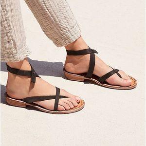 Free People Landings Asymmetrical sandals black 38
